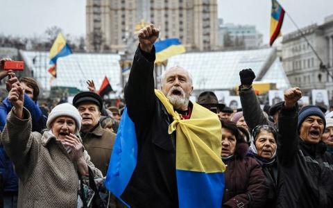 Михо Майдановцы готовятся к новой акции протеста
