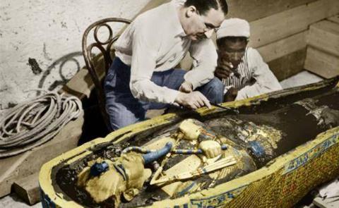Нож Тутанхамона появился из космоса?