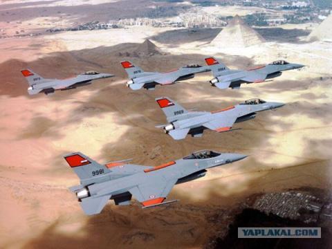 Египет нанёс удары по боевикам в Ливии