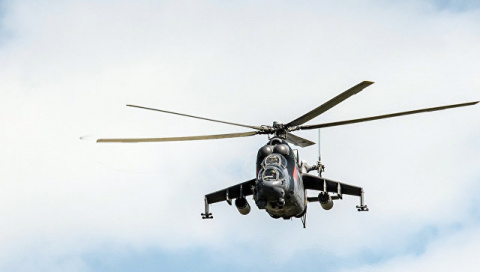 Российский вертолет потерпел крушение в Сирии, пилоты погибли