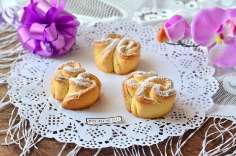 Очень вкусное печенье из творога