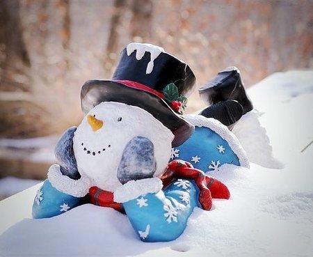 Невероятные снеговики