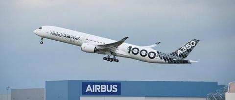 Первый Airbus A350-1000 заве…