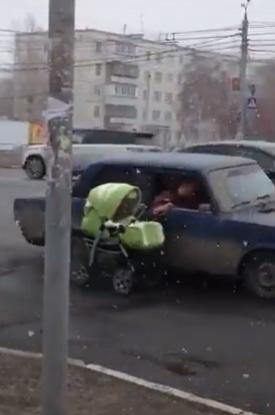 Прогулка с ребенком в коляске на большое расстояние