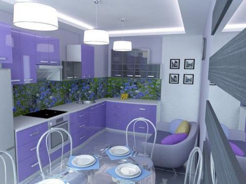 Дизайн интерьера кухни...