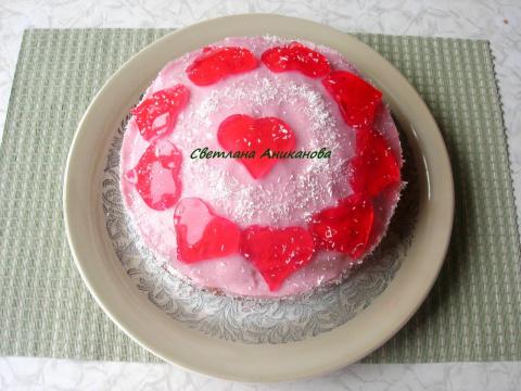 Торт для любимых ко Дню Свят…