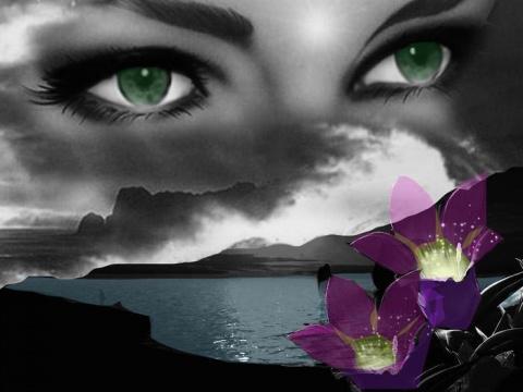 Я в глазах утону твоих....