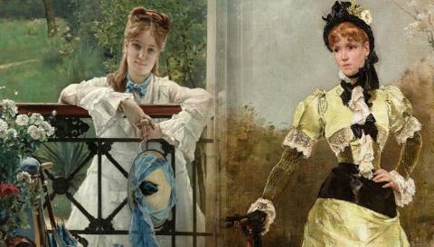 Изящные портреты художника, которого критики ругали за однобокость, а клиенты выстраивались к нему в очередь