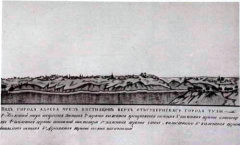 Города - крепости по Засечным чертам юга русского государства