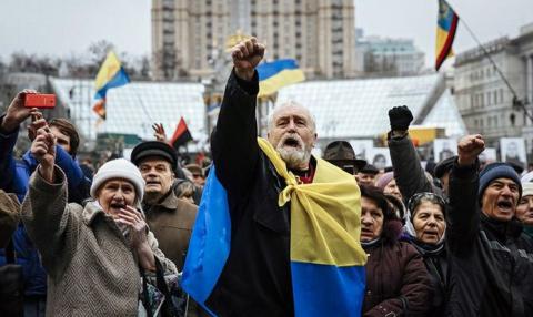Евромайдан будет официально признан «святым»
