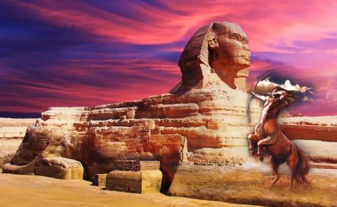 Что хранит древний Сфинкс и истории рукотворных монстров
