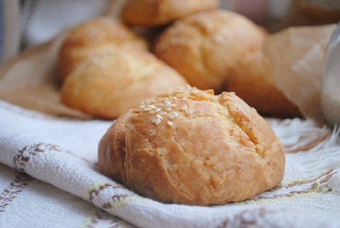 Творожные булочки на завтрак за 15 минут