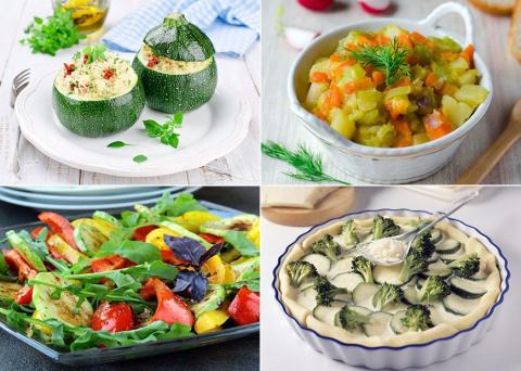 Блюда из овощей - наилучшие …