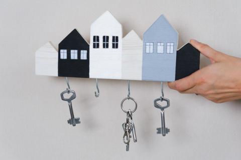 Как сделать ключницу для дом…