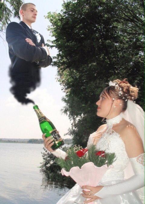Женихи и невесты - бывает и такое (приколы)