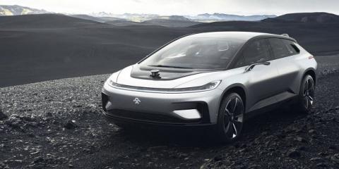 Электромобиль Faraday Future…