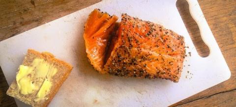 Как засолить лосось или семг…