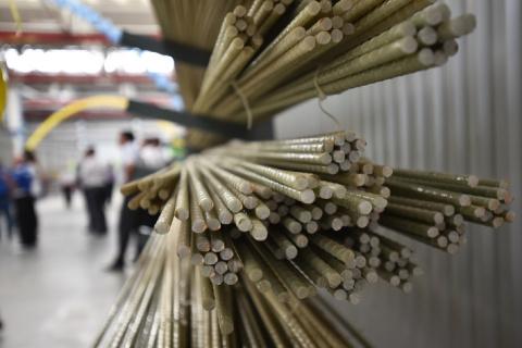 В Ставропольском крае открыто производство композитной арматуры