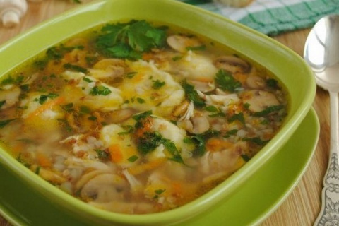 ДЕНЬ ПЕРВОГО БЛЮДА. Крупяные супы (вып. 1)
