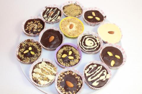 Шоколадные сладости (конфеты…