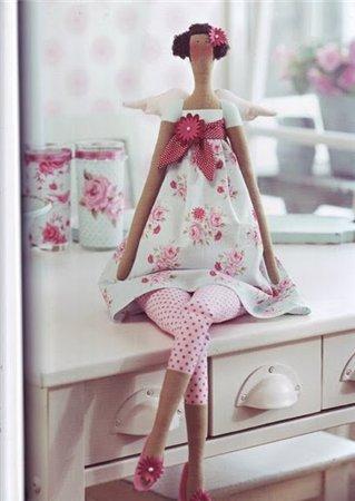 Про куклу Тильду + выкройка + МК