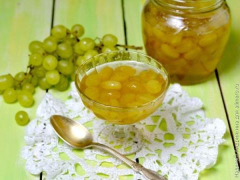 Виноградное варенье от простуды и авитаминоза. Дорада, запеченная с лаймом
