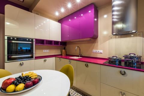 Жизнь в рукавичке — 5 лучших идей дизайна для кухни площадью 7 кв.метров