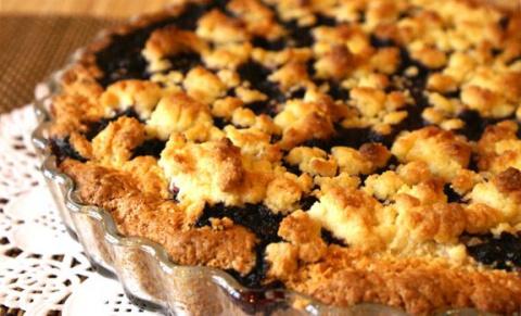 Вкуснейший черничный пирог