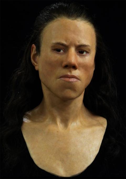 Реконструкторы воссоздали лицо 18-летней девушки, которая жила 9 000 лет назад