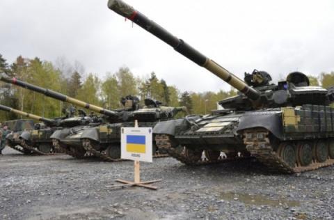 Жалкое зрелище: Украина показала первые кадры с танковых состязаний в Европе
