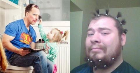 У меня есть дочь, поэтому я всегда отменно выгляжу! Посмеялась от души!