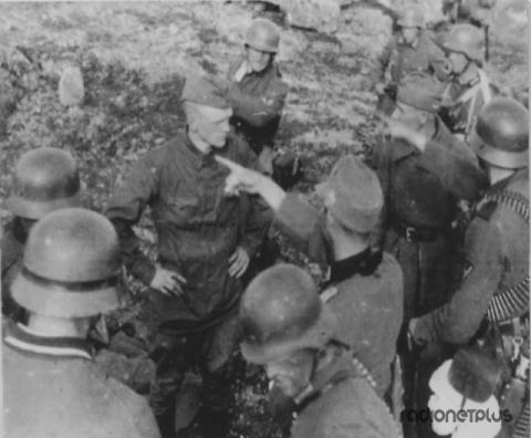 Русские солдаты глазами немцев