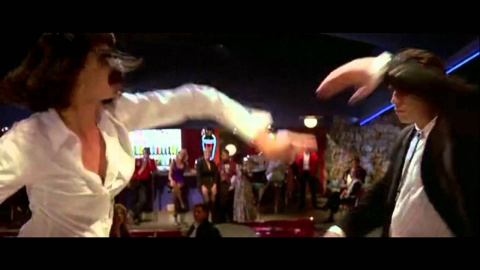 Легендарный танец Умы Турман и Джона Траволты. Сыграно гениально!