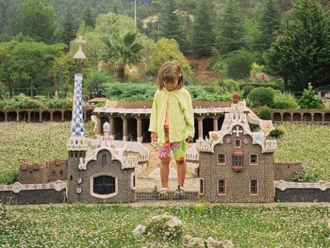 Знаменитый ландшафтный парк в Барселоне - Каталония в миниатюре.