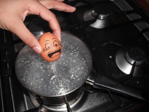 Как французы крутили яйца