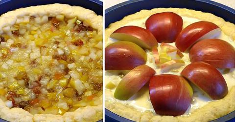 Яблочный пирог «Неженка»: со…