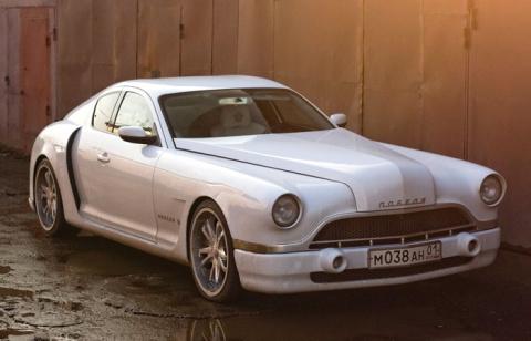 «Победа»-купе: Киевлянин собрал в гараже собственную версию знаменитой машины