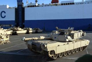 Американские танки на пути в…
