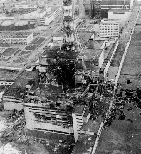 Второй взрыв на Чернобыльской АЭС