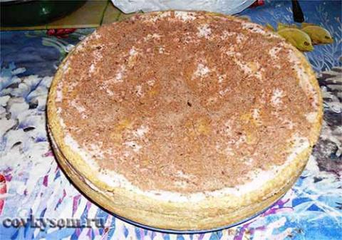 бисквитный пирог с йогуртом