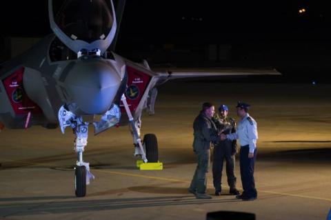 Израильский F-35 получил пов…