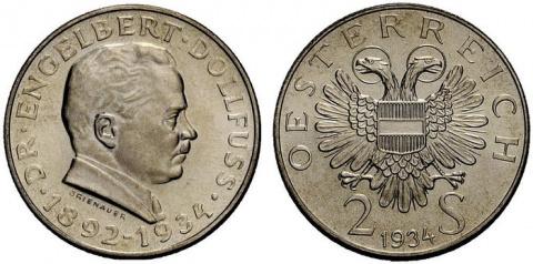 Памятные доппельшиллинги первой Австрийской республики
