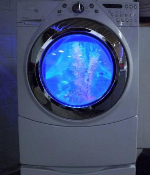 Креативные вещи из старых стиральных машин