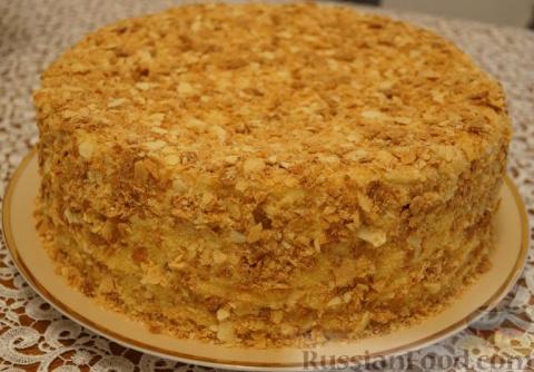 Вот Вам рецепт торта Наполеон