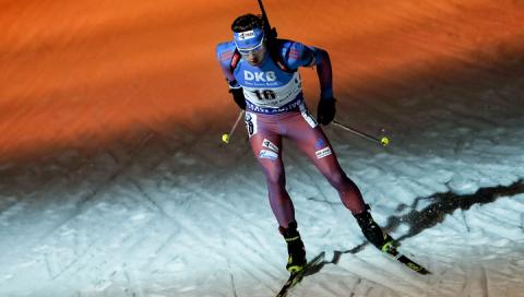 Биатлонисты России взяли первую медаль на чемпионате мира