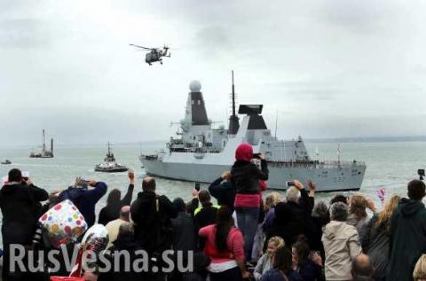 Британский эсминец в Черном …