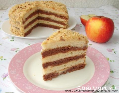 """Торт сметанник """"Яблочный"""" - …"""