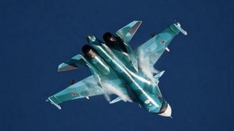Су-34 «переиграл» украинскую…