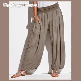Широкие женские брюки. Моделирование