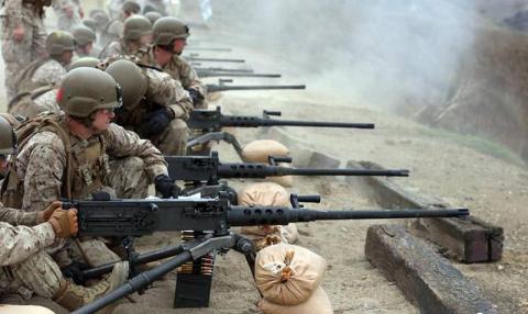 Крупнокалиберный пулемет: вз…